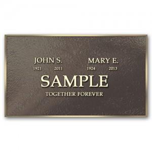 Memorial Marker Sales